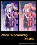 Lonely PSD coloring