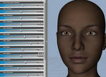 20 Morphs for Genesis 3 Female Head