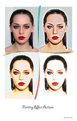 Painting Effect Actions by egulumse