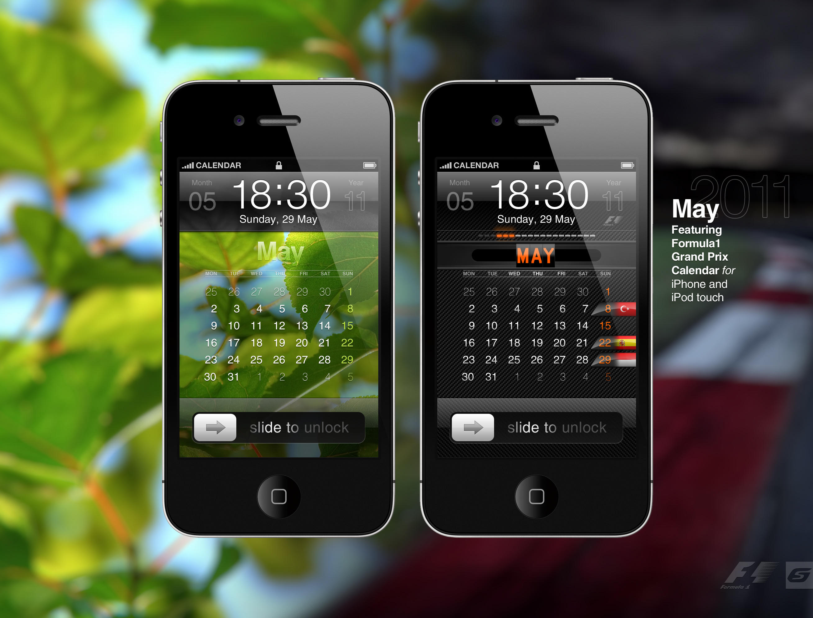 May 2011 + F1 by 5-G