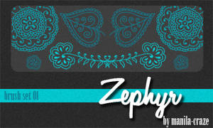 Zephyr - brush set 01