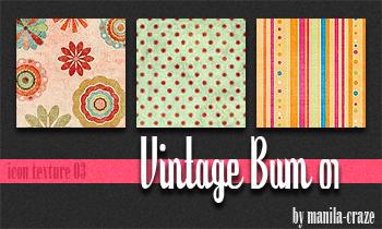 Vintage Bum - icon texture 03
