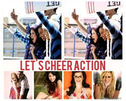 let's cheer action by asyouforget