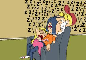 Loud Harem - Sleeping time by XD-e-R-r-A-C-i-A-zX