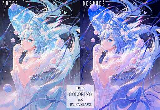 PSD Coloring #8