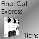 Final Cut Express Box by SL05NED