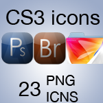 Adobe CS3 Icon Set by SL05NED