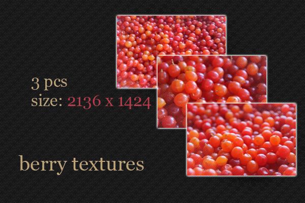 Berry Textures by PrinceUsagi