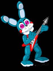 Animation: Toy Bonnie rocking!