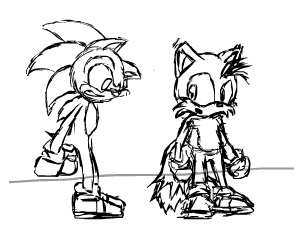 Tails' Tongue (Rough Draft) by ulrich5000