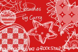 doodles +brush+ by currysiek