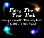 Photoshop Fairy Fire 4 Pack 1 by JennaHickman