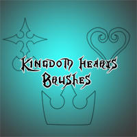 Kingdom Hearts Brushes by Twilight-Deviant