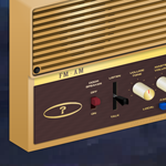 the wall radio by BONUSBOX
