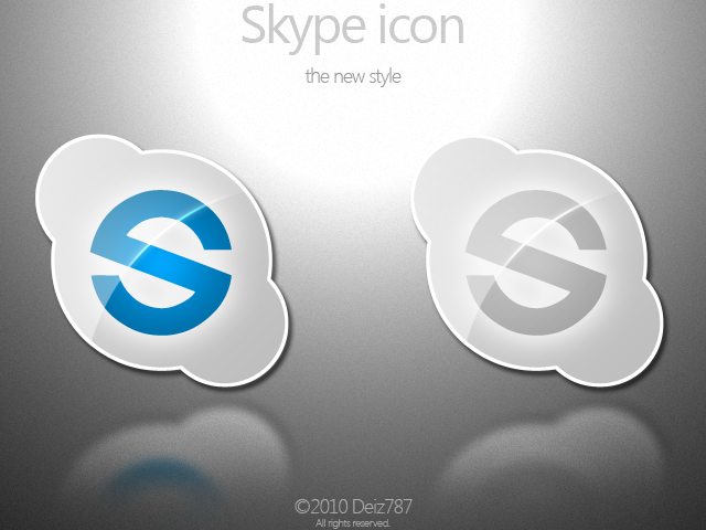 Skype Icons by Deiz787