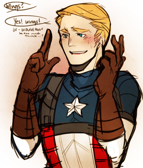 UNDER HER WINGS: STEVE ROGERS X READER - 2 by ...