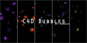C4D Bubbles