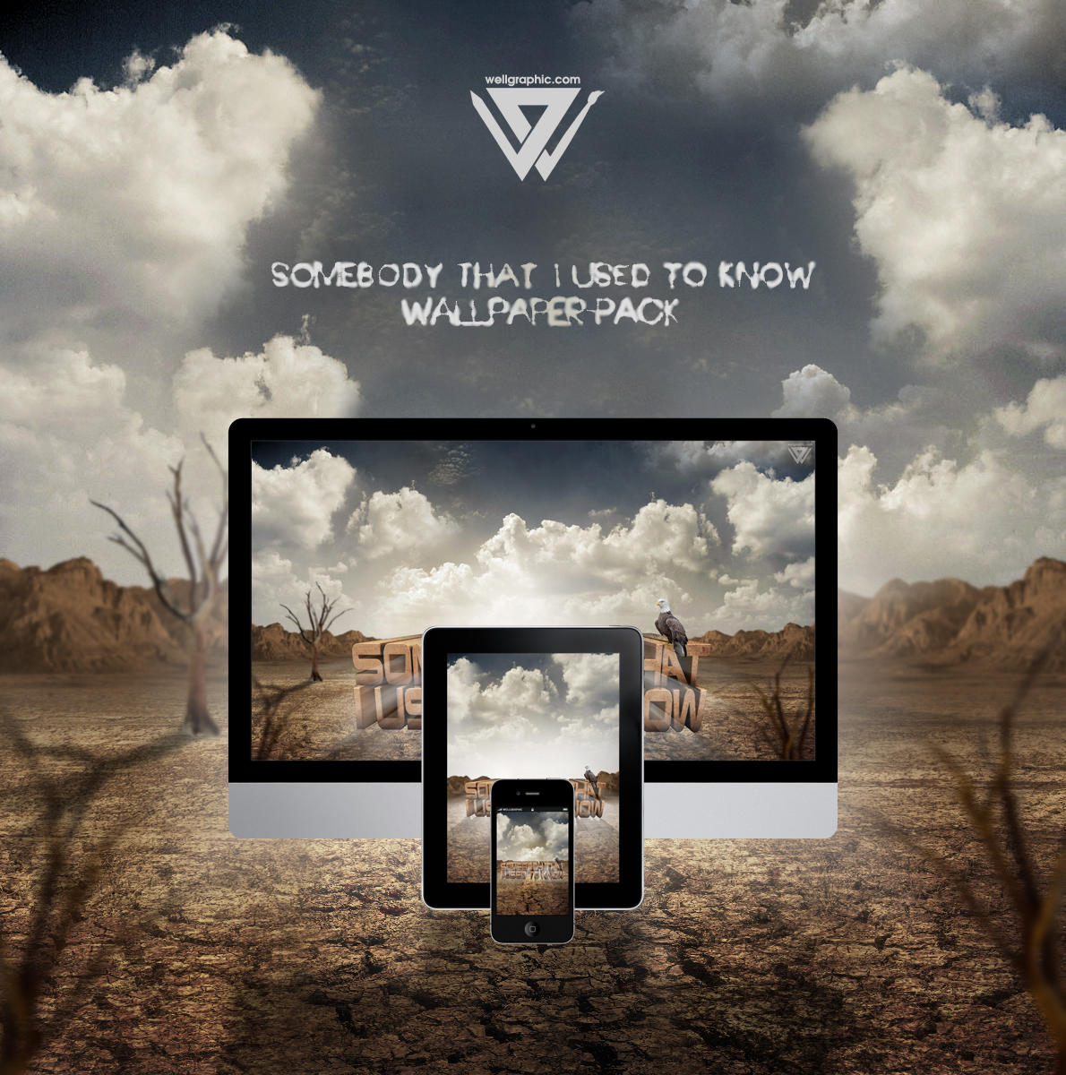 Somebody That I Used To Know Wallpaper-Pack by wellgraphic