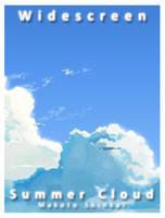 Summer Cloud by alexshellzhou