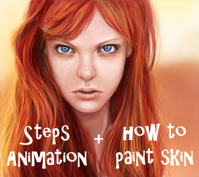 Ada - how to paint skin + steps !