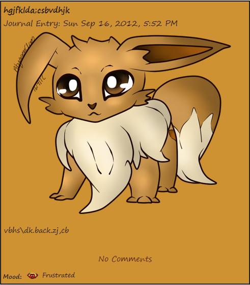 Updated Eevee Journal Skin by AbyssinChaos
