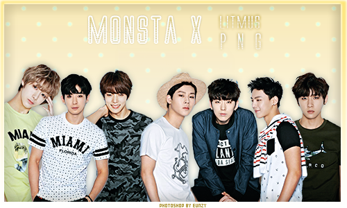PNG-MONSTA X -Litmus x7 by chunhyun210