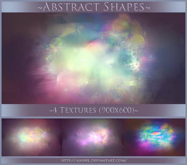 #3 Texture Pack - Abstract Shapes