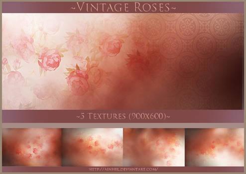 #8 Texture Pack (900x600) - Vintage Roses