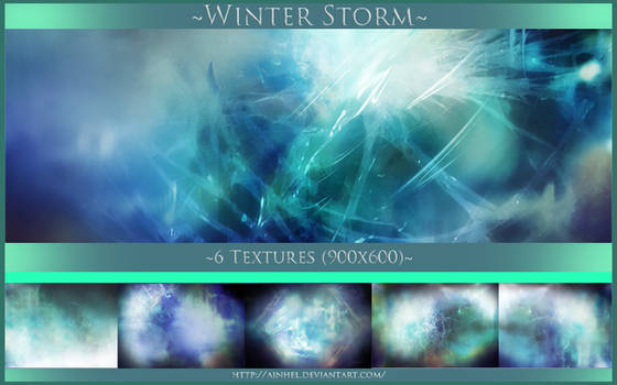 #9 Texture Pack (900x600) - Winter Storm