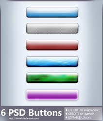 #2 PSD Buttons Pack