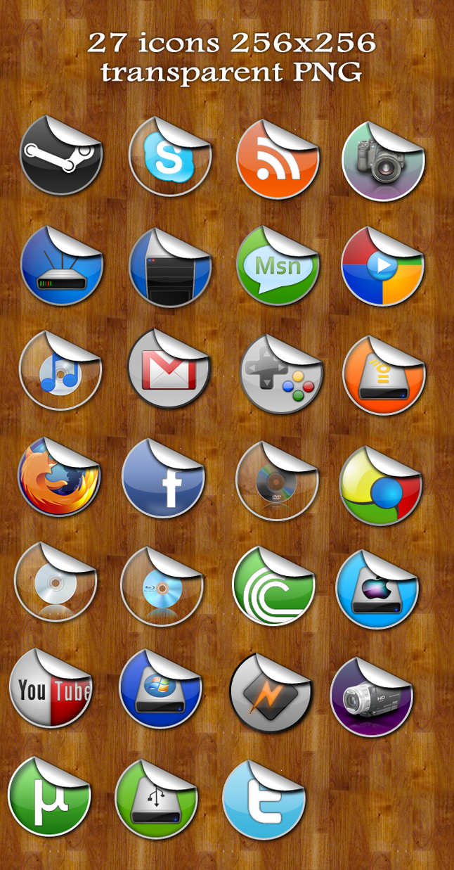Sticky 2.0 - Dock icon set by jeremebp