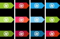 Top taskbar small metro orbs by jeremebp