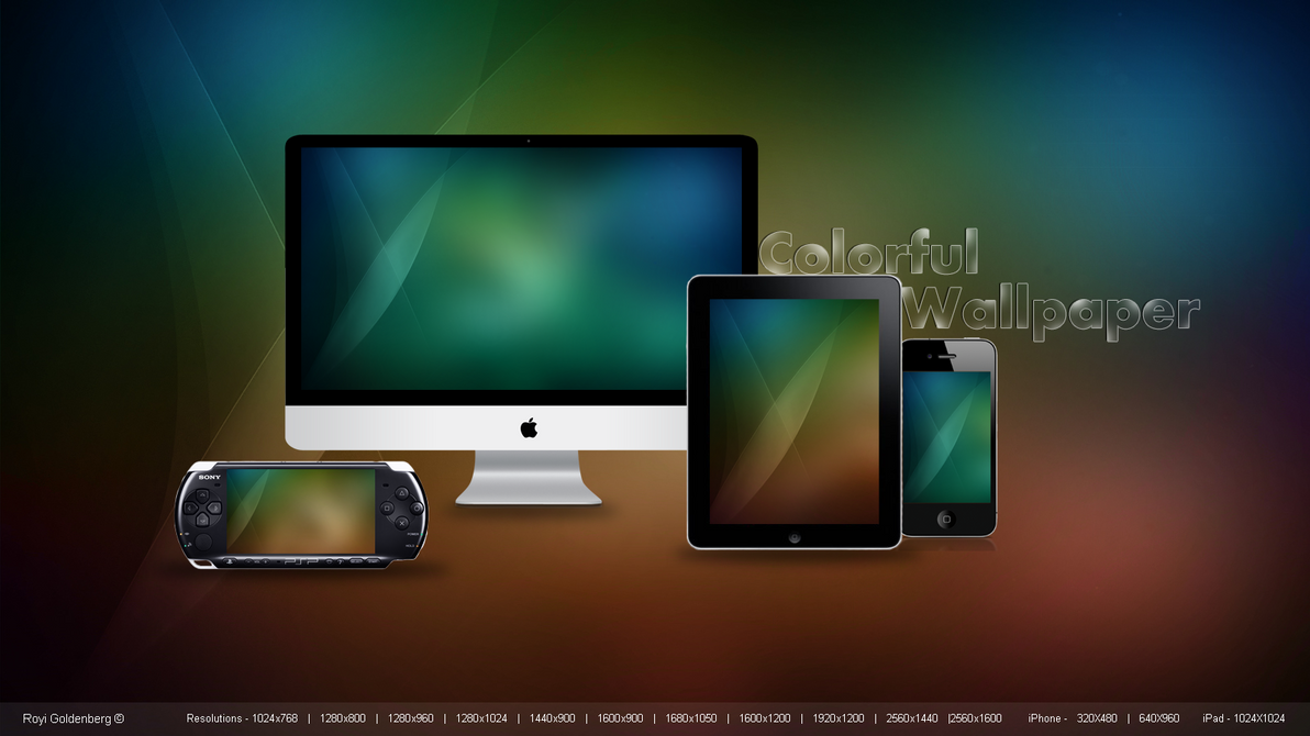 how to link ipad and iphone colorful by rc design on deviantart 9786