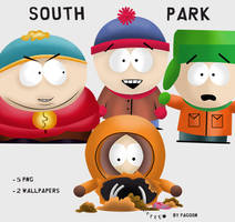 Pack South Park by Pvndarikaksa