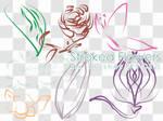 Stroked Floweresque