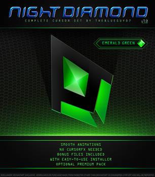 Night Diamond v3.0 | Emerald Green by BlooGuy