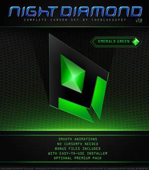 Night Diamond v3.0 | Emerald Green