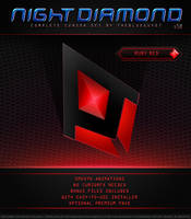 Night Diamond v3.0 | Ruby Red by BlooGuy