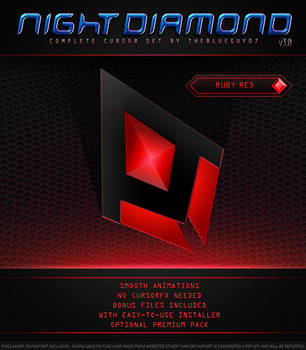 Night Diamond v3.0 | Ruby Red by BlooGuy