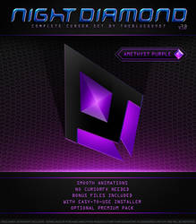 Night Diamond v3.0 | Amethyst Purple by BlooGuy