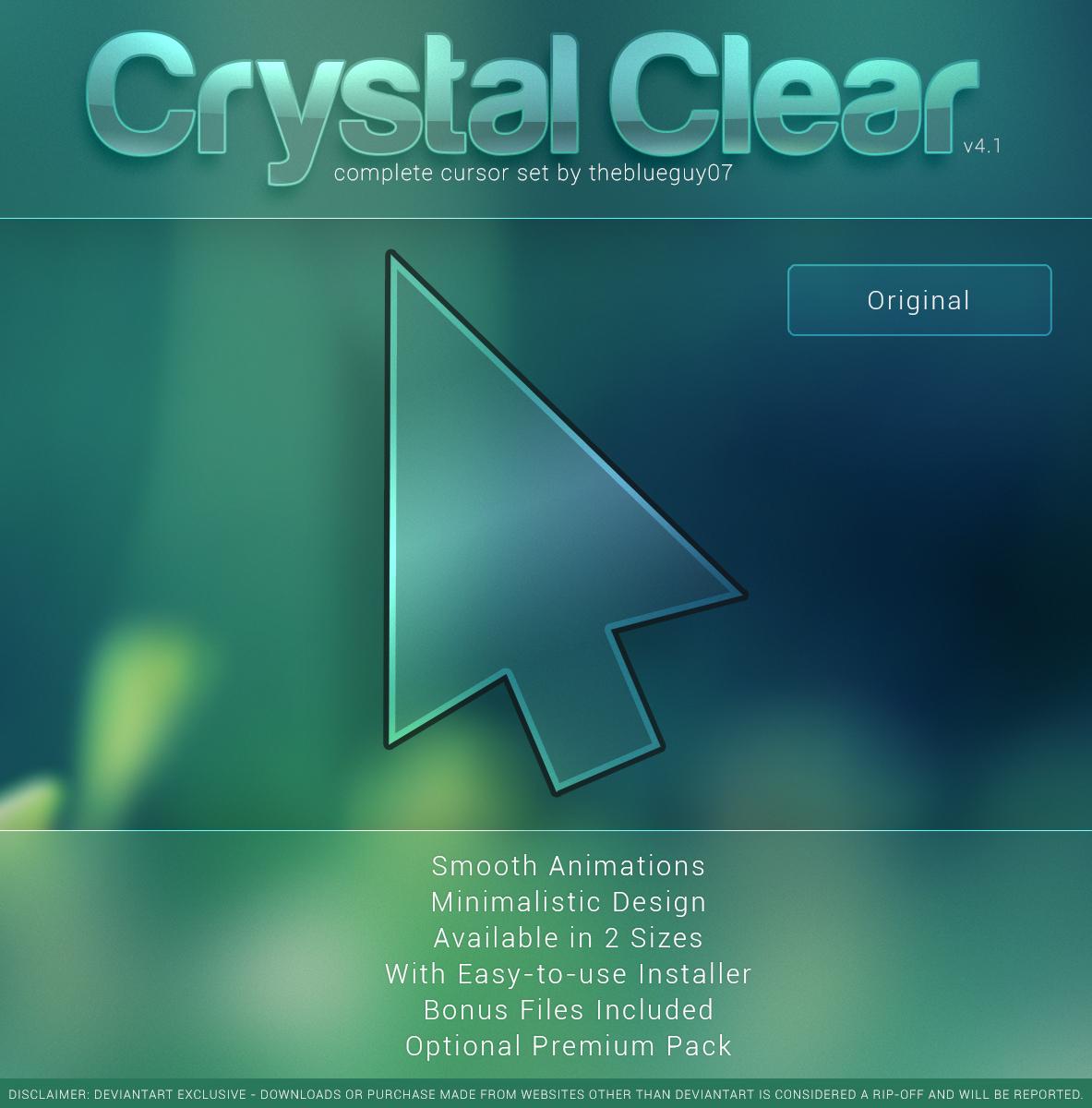 Crystal Clear V4 1 Original By Blooguy On Deviantart