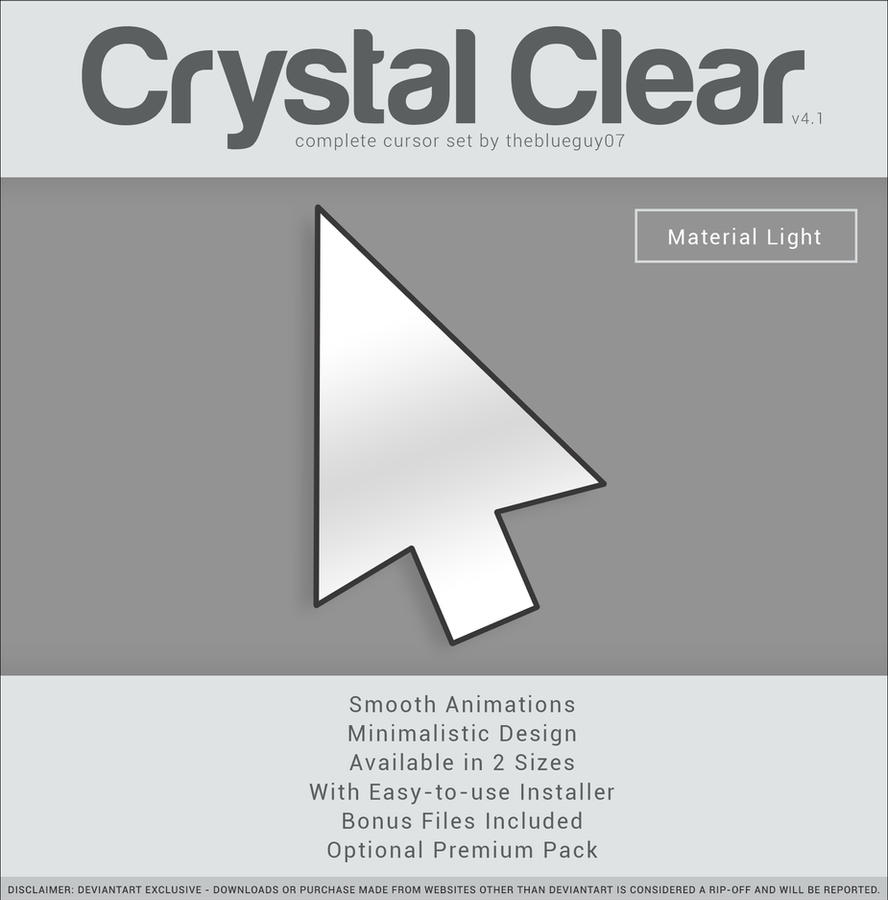 Crystal Clear v4.1   Material Light by BlooGuy