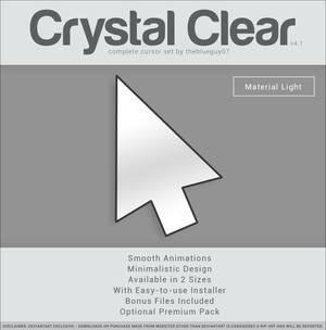 Crystal Clear v4.1 | Material Light
