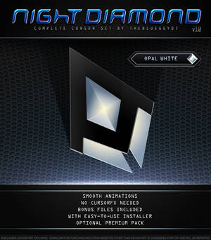 Night Diamond v3.0   Opal White