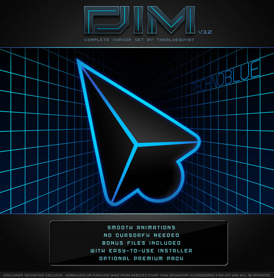 DIM v3.2 | TechnoBlue by BlooGuy