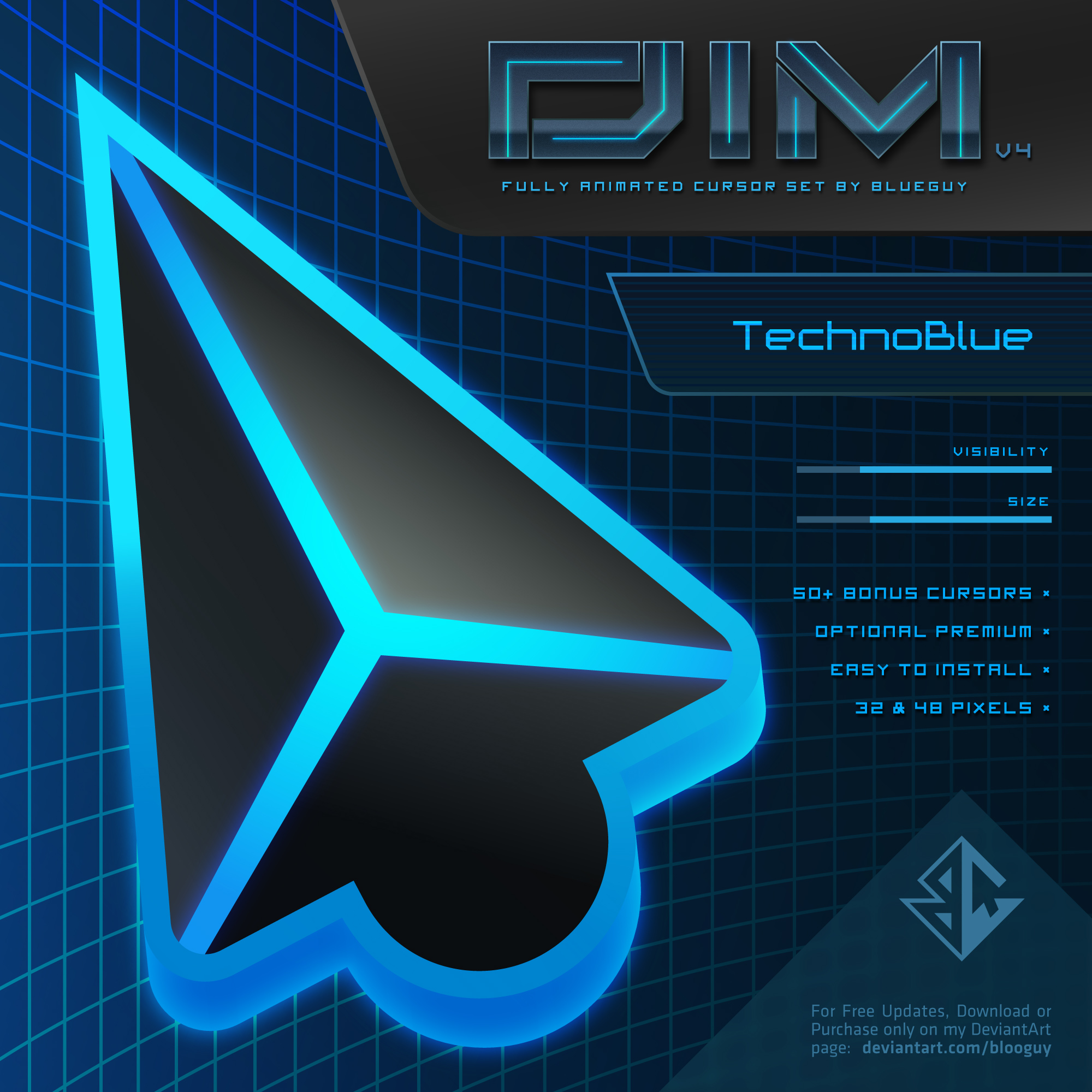 DIM v4 | TechnoBlue