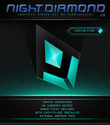 Night Diamond v3.0 | Zircon Cyan by BlooGuy