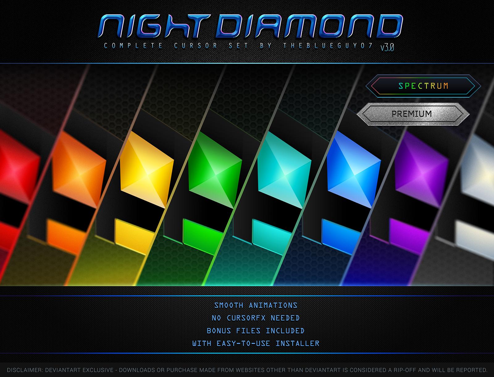 Night Diamond v3.0 | Spectrum Set by BlooGuy
