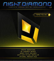 Night Diamond v3.0 | Topaz Yellow by BlooGuy