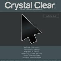 Crystal Clear v4.1   Material Dark